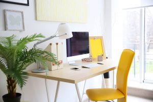 stylish workplace from home