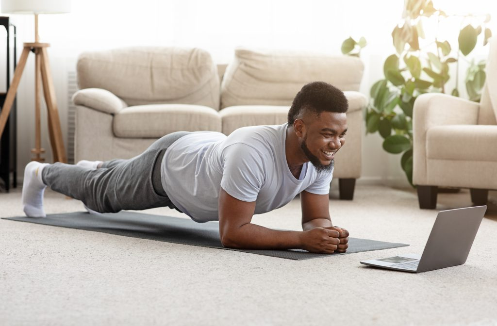 simple exercise like planking